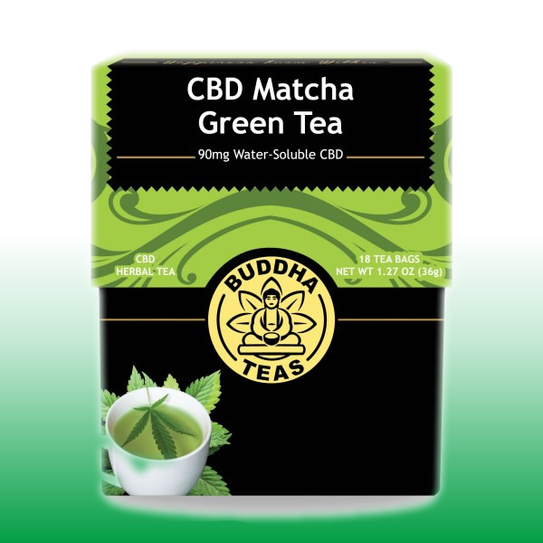 CBD Matcha Green Tea | Buddha Teas