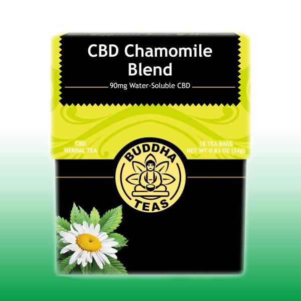 Chamomile Blend CBD Tea | Buddha Teas