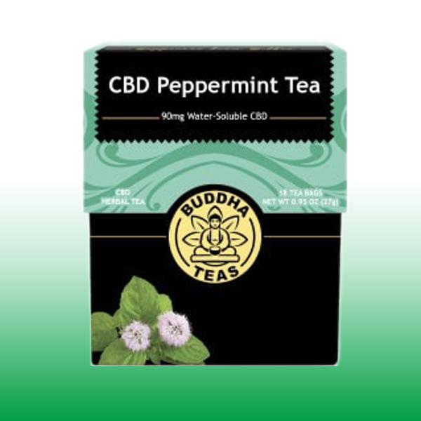Peppermint CBD Tea | Buddha Teas