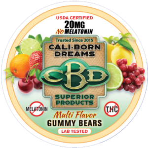 Traveling with CBD, Fly with CBD, CBD Law, Cali Born Dreams CBD Gummy Bears