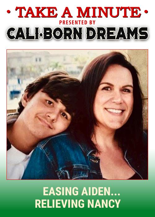 Take A Minute - Easing Aiden | Cali-Born Dreams