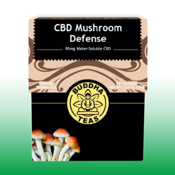 CBD Mushroom Defense Tea | Buddha Teas