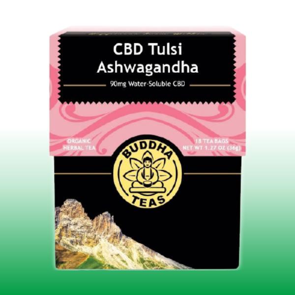 CBD Tulsi Ashwagandha | Buddha Teas