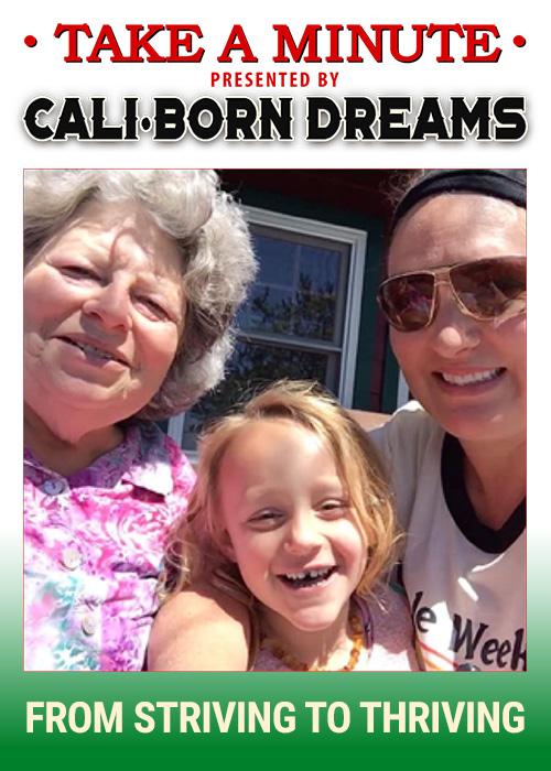Take A Minute - Fran | Cali-Born Dreams